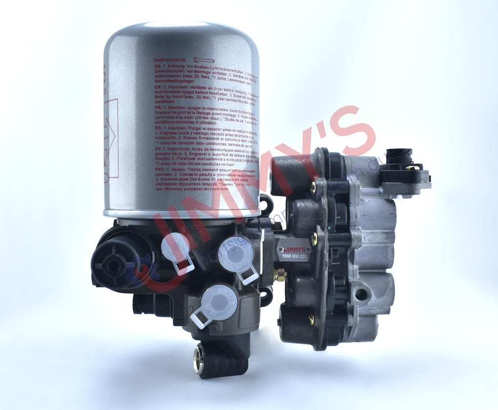 1998 800 221 – Complete Air Dryer with MPV