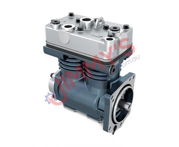 1998 500 010 – Air Brake Compressor Twin Cylinder Model No. 4 SERIES TRUCK BUSS ,P, G, R, T, TRUCK – F, K, N BUS – D9, D11, D12, D12A, D13, DC9, DC9A, DC11, DC12, DC13, DSC1205, DSC12, SG9, K94