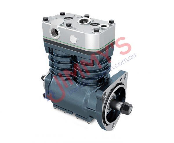 1998 500 013 – Air Brake Compressor Twin Cylinder Model – 3 SERIES TRUCK, 4 SERIES HEAVY DUTY TRUCK, 3 SERIES BUS, 4 SERIES TRUCK, 4 SERIES BUS
