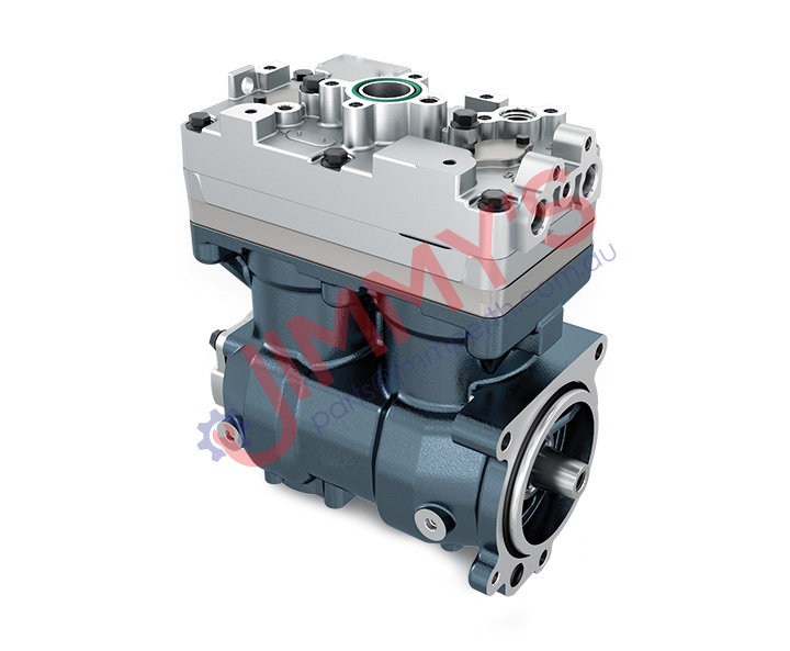 1998 500 016 – Air Brake Compressor Twin Cylinder Model No. TRUCK (P, R, G, T) – BUS (F, K, N) NGS INLINE
