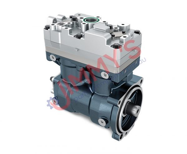 1998 500 017 – Air Brake Compressor Twin Cylinder Model No. TRUCK (P, G, R, T) – BUS (F, K, N) DL