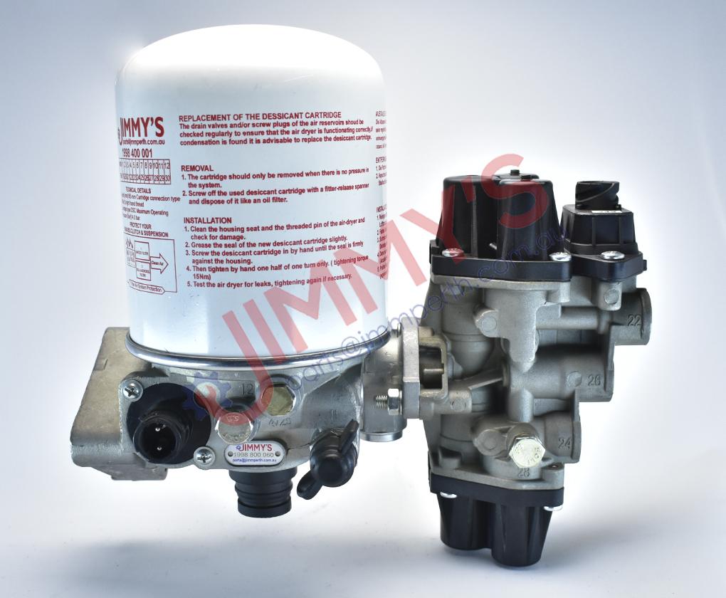 1998 800 060 – Complete Air Dryer Unit – 13 Bar Max (24 Volt)